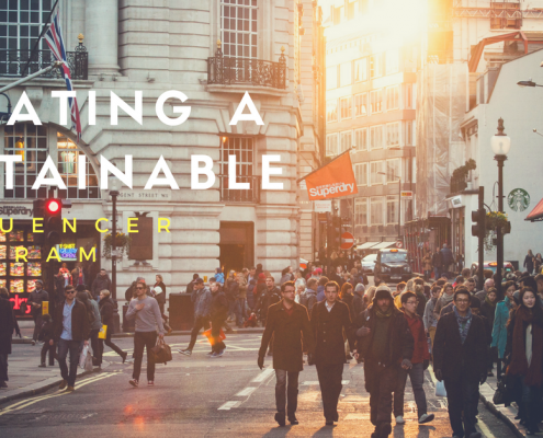creating a sustainable influencer