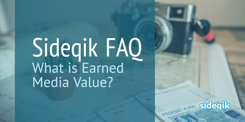 What is earned media value?